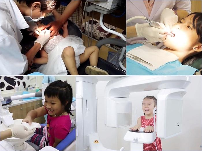 Trám răng cho trẻ em an toàn, thẩm mỹ cao tại Nha khoa KIM 5