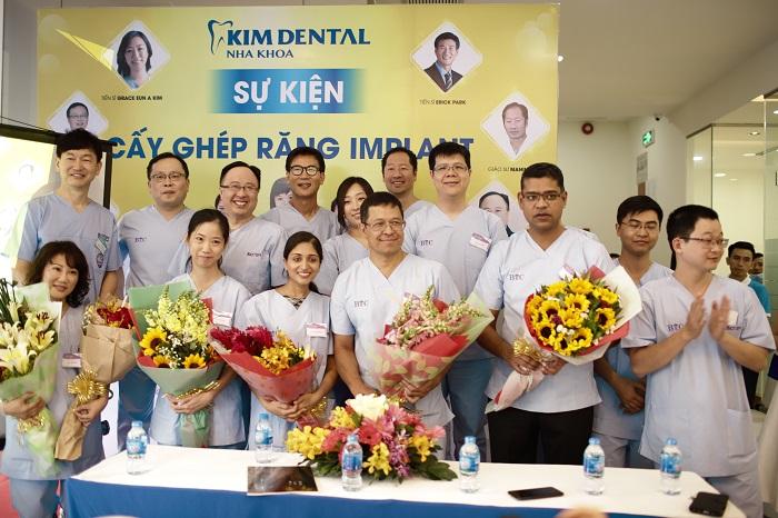 Nha khoa Kim ký kết hợp tác với WAUPS và Biotem 1