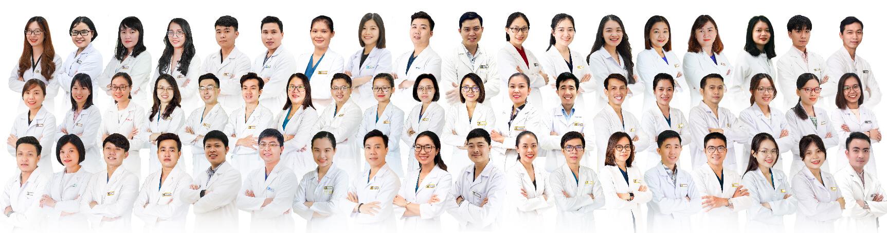 đội ngũ bác sĩ Nha Khoa Kim