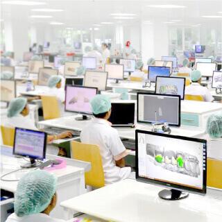 Nhà máy sản xuất răng