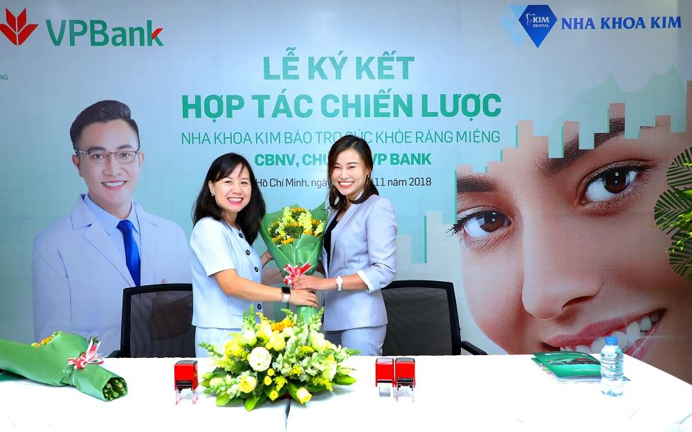 Nha Khoa Kim và VPBank ký kết hợp tác chiến lược