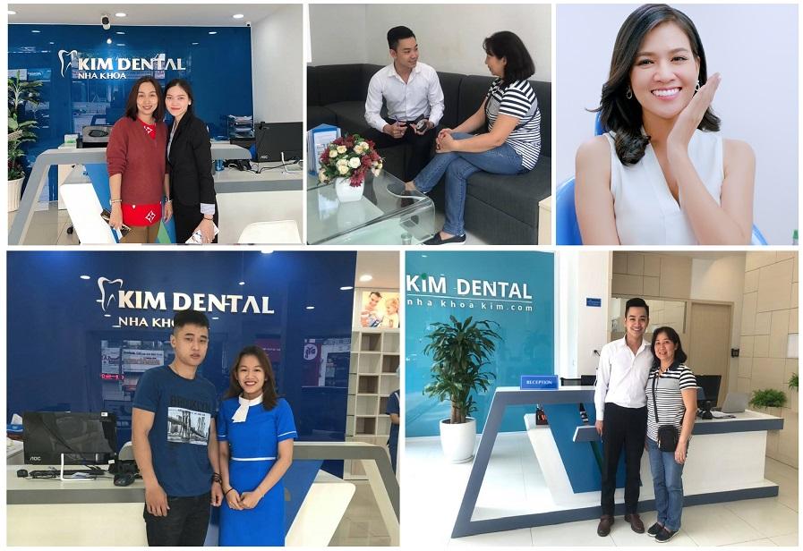 chăm sóc răng miệng tại nha khoa Kim