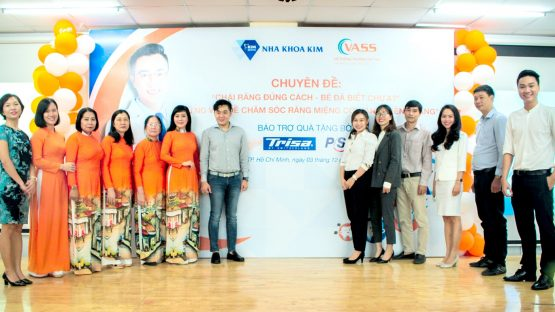 Nha khoa Kim được VASS tin tưởng chọn bảo trợ sức khỏe răng miệng cho hàng ngàn CB-NV, phụ huynh và học sinh