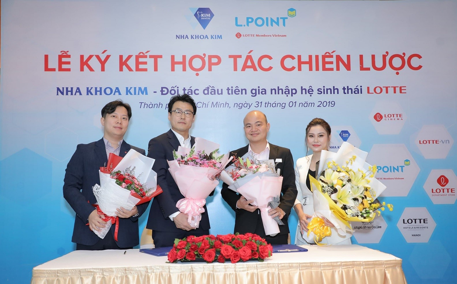 Nha khoa Kim là doanh nghiệp Việt Nam đầu tiên tham gia vào hệ sinh thái của tập đoàn Lotte