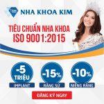 Ưu đãi mừng Nha Khoa Kim đạt chứng nhận ISO 9001:2015