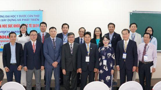 Nha Khoa Kim đồng hành cùng trường Đại học Y dược Cần Thơ trong hội nghị Khoa Học Sức Khỏe Quốc Tế năm 2019