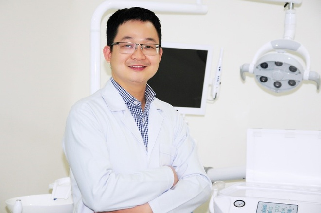 Bác sĩ Nguyễn Hồng Huy từng tu nghiệp tại Mỹ.