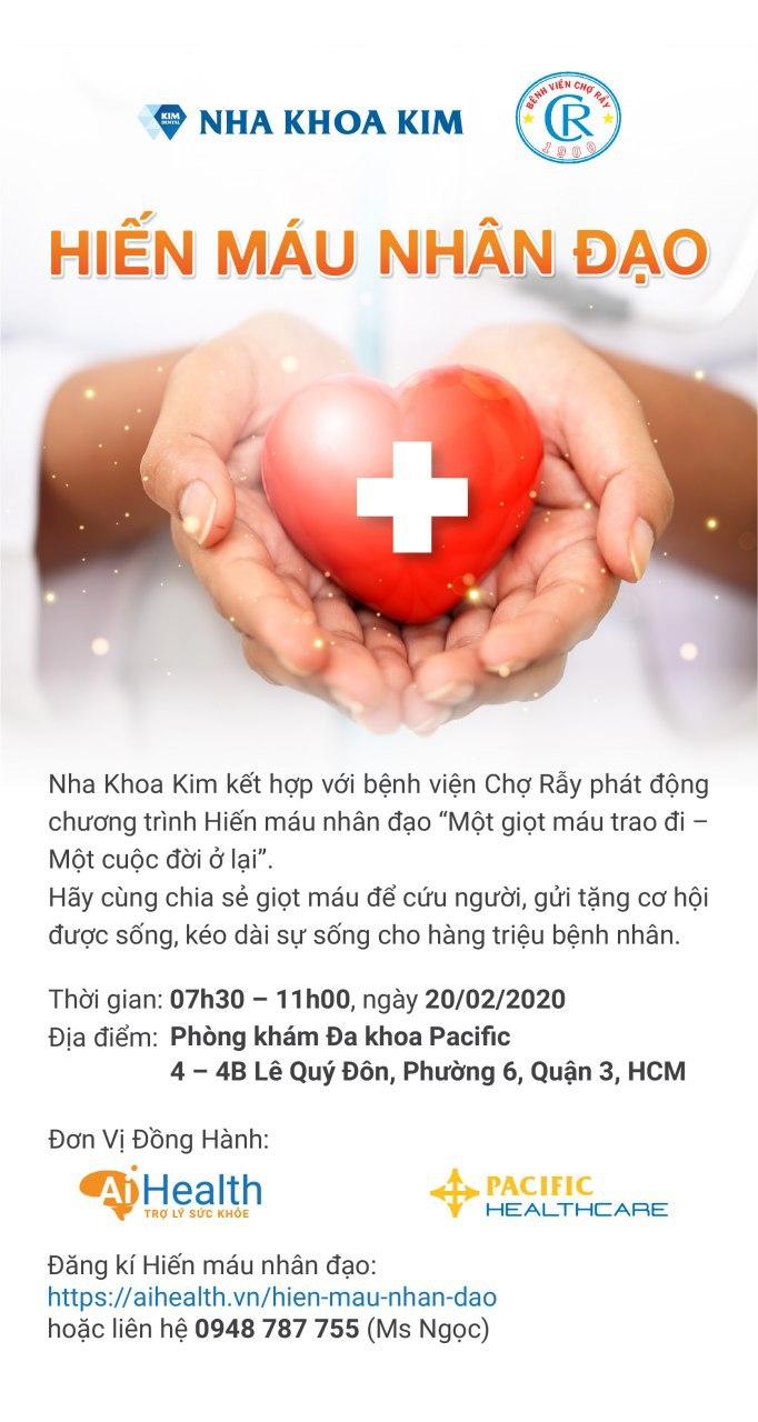 hiến máu nhân đạo - 1