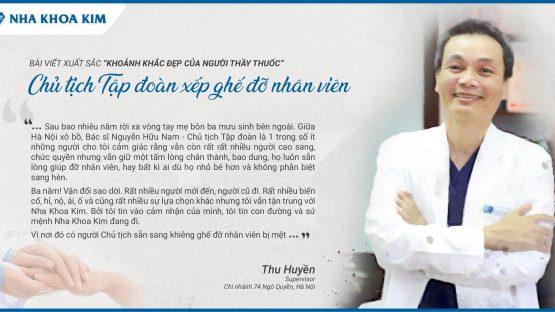 Khoảnh khắc đẹp của người Thầy thuốc từ chi nhánh 74 Ngô Quyền, Hà Nội