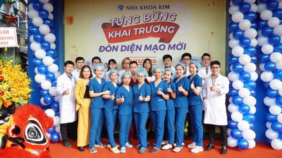 Phòng khám Nha Khoa Kim Biên Hoà tưng bừng khai trương, đón diện mạo mới