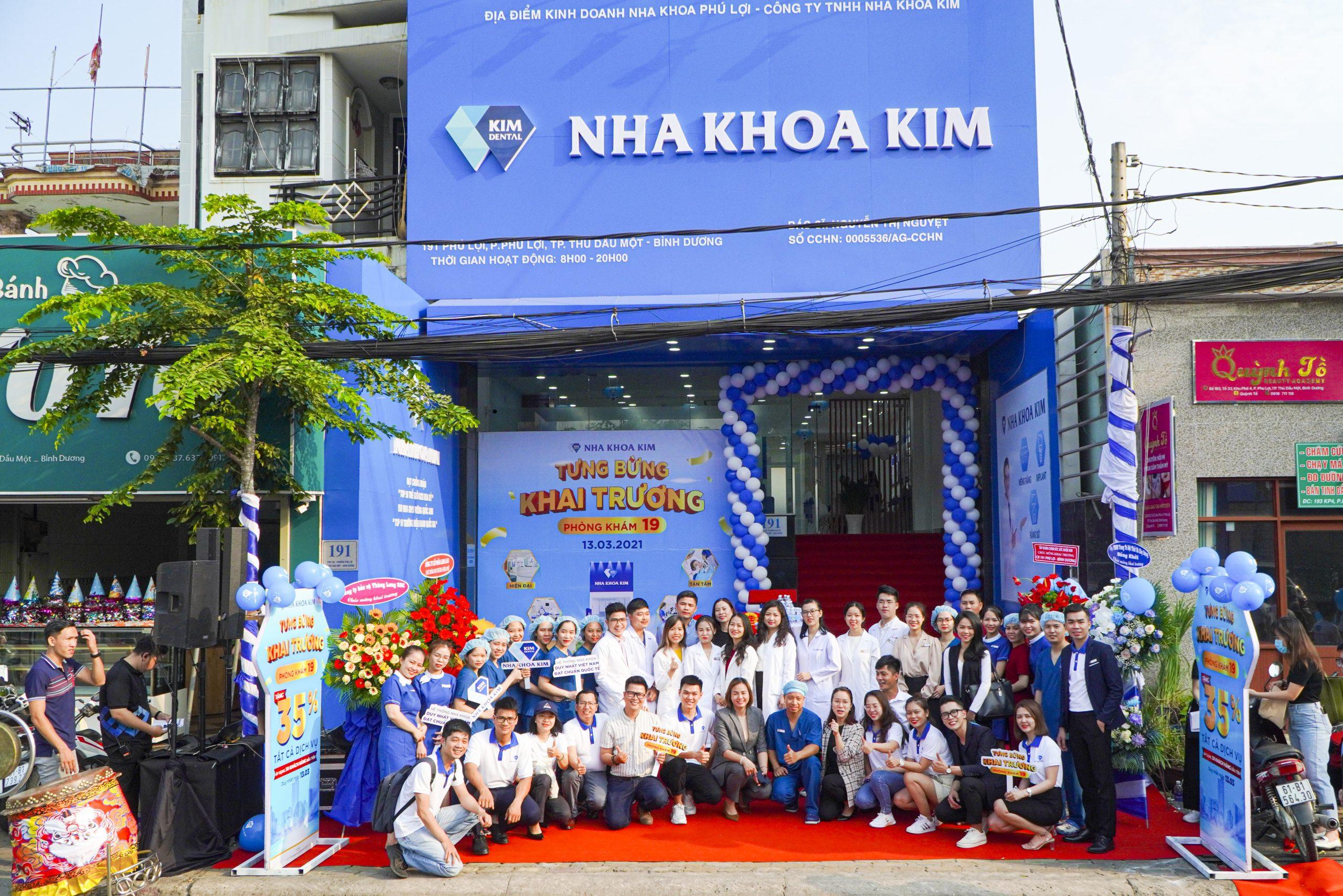 khai trương nha khoa tại Phú Lợi