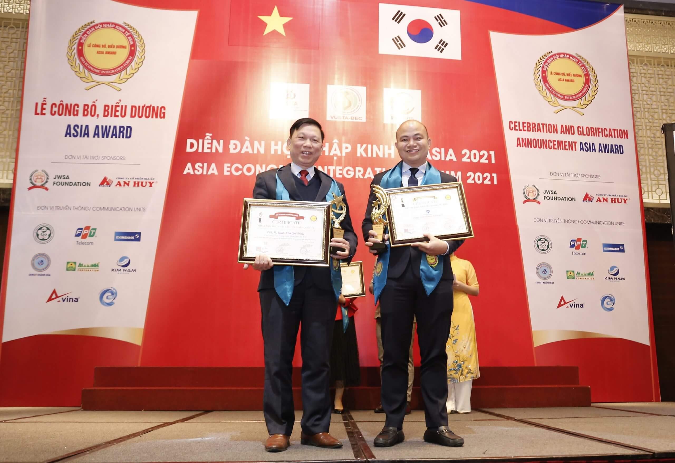 Nha Khoa Kim nhận giải thưởng