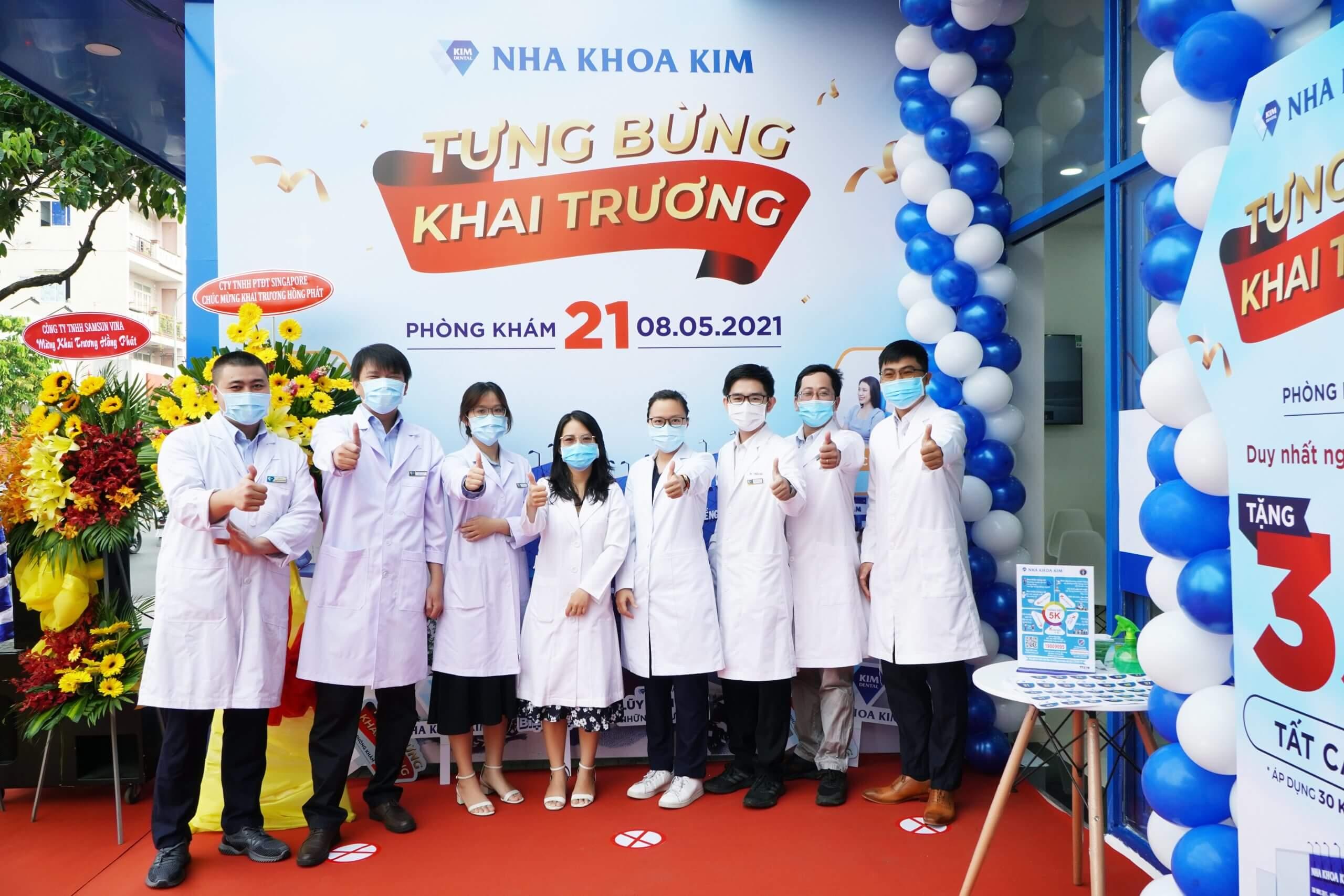 phòng khám quận Tân Phú của Nha Khoa Kim