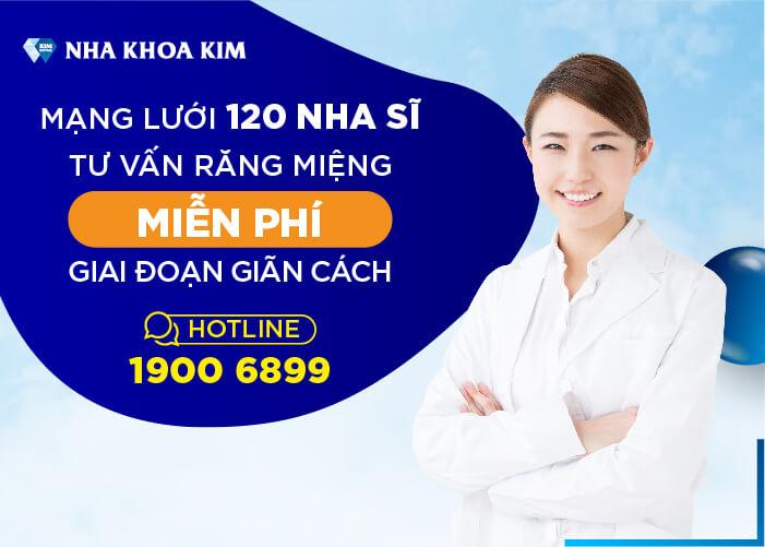 tư vấn răng miệng miễn phí Nha Khoa Kim
